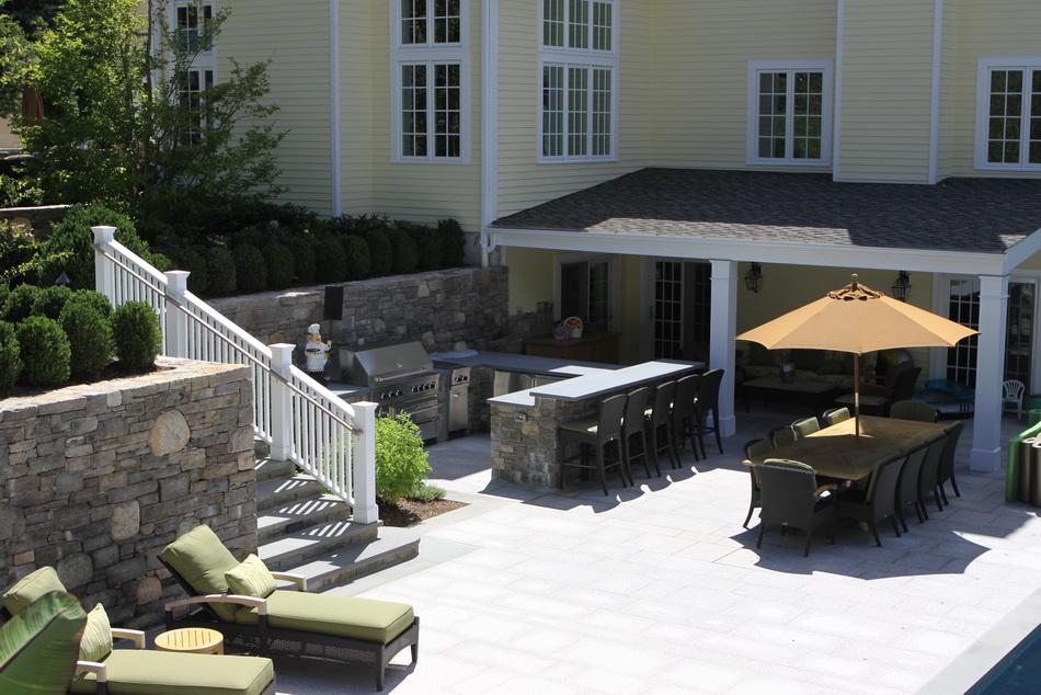 Outdoor garden rooms rock spring design group llc for Outdoor room extensions